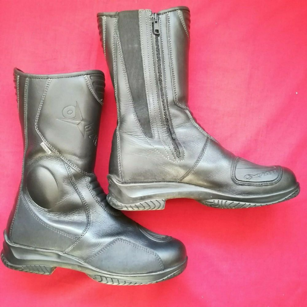 Ladies Oxtar Goretex Motorcycle Waterproof Boots Size 38 Uk 5
